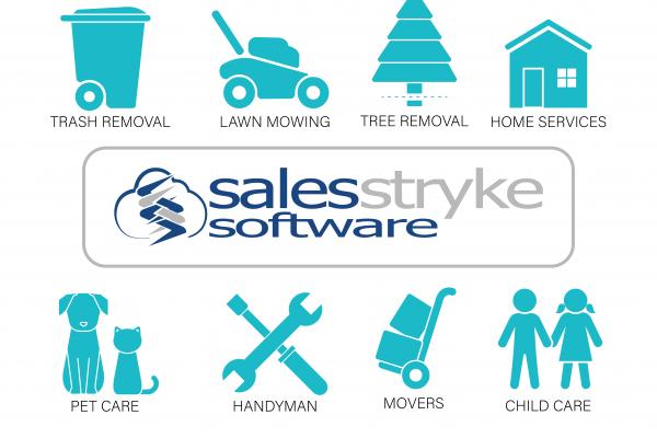 Service Industry Companies Served by SalesStryke
