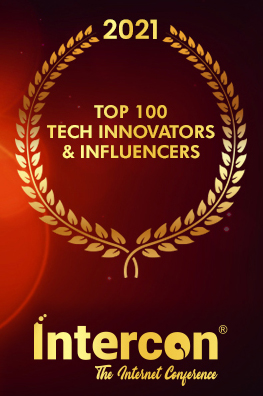 Intercon Awardees Top 100 Tech Innovators & Influencers_K. Ryan Hasse SalesStryke TrashBolt Software